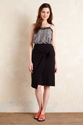 Maeve Balian Wrapped Skirt Black