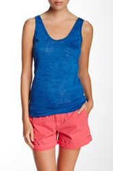 Alternative Apparel Burnout Tank Blue