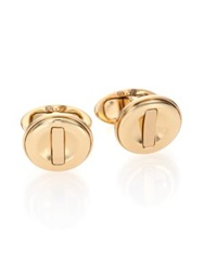 Dunhill Ignition Cuff Links Gold