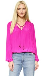 Ramy Brook London Blouse Paradise Pink
