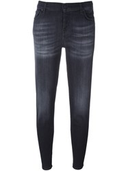7 For All Mankind 'Josefina' Boyfriend Jeans Black