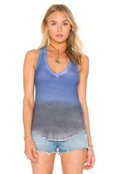 Feel The Piece Lilith V Neck Tank Blue
