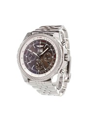 Breitling 'Bentley Motors Chronograph' Analog Watch Stainless Steel