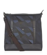 Mulberry Camo Canvas Backpack Blue