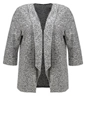 Evans Cardigan Black White