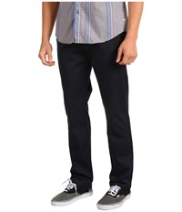 Volcom Frickin Modern Stretch Chino Dark Navy Men's Casual Pants