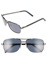 Men's Polaroid Eyewear 58Mm Polarized Navigator Sunglasses