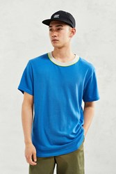 Cpo Cotton Mesh Ringer Tee Blue