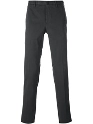 Incotex Skinny Fit Trousers Grey