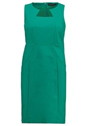 Eloquii Shift Dress Emerald Green