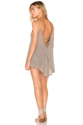Candc California Poppy Tank Taupe
