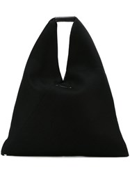 Maison Martin Margiela Mm6 Hobo Shoulder Bag Black