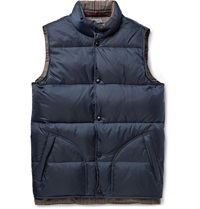 Grayers Cambel Quilted Shell Down Gilet Blue