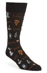 Hot Sox Men's 'Coffee' Socks