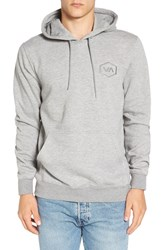 Rvca Men's 'Hex Va' Embroidered Hoodie