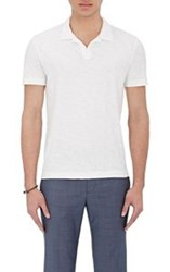 Theory Men's Willem Polo Shirt White