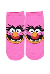 Forever 21 Muppets Animal Ankle Socks Fuchsia Orange