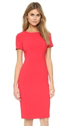 Black Halo Jodee Sheath Dress Chic Red