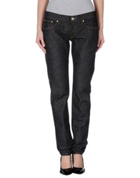 Bikkembergs Denim Pants Black