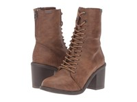 Blowfish Mammer Whiskey Old Ranger Pu Women's Lace Up Boots Brown