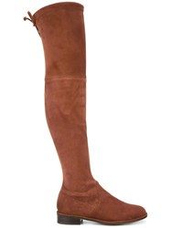 Stuart Weitzman 'Low Land' Boots Brown