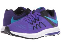 Nike Zoom Winflo 3 Fierce Purple Black White Blue Lagoon Women's Running Shoes Fierce Purple Black White Blue Lagoon