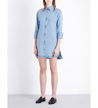 J Brand Fashion Bacall Cotton And Linen Blend Dress Fave