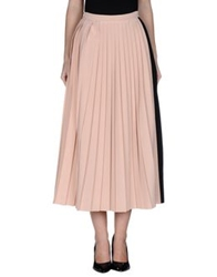 Barbara Casasola Long Skirts Light Pink
