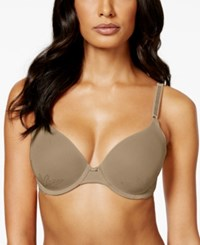 Warner's No Side Effects Lace Underwire Bra Rd0561a Toasted Almond