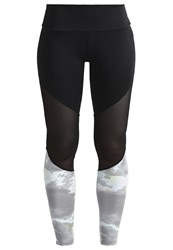 Onzie Tights Black Mesh Techno