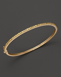 Bloomingdale's Yellow Sapphire Bangle In 14K Yellow Gold Yellow Gold Yellow Sapphire