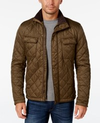 Barbour Men's Laggan Quilted Jacket Olive