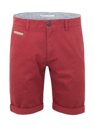 Racing Green Justice Chino Short Red