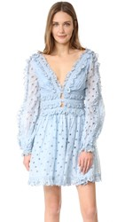 Zimmermann Winsome Tea Dress Sky