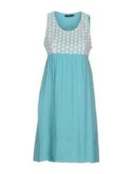 Nuvola Short Dresses Turquoise