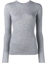 Vince Crew Neck Jumper Grey