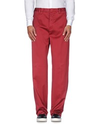 Boglioli Trousers Casual Trousers Men Red