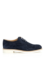 Sergio Rossi Suede Derby Shoes