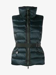Moncler Tareg Sleeveless Padded Gilet Green Black