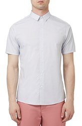 Men's Topman 'Buratta Dot' Short Sleeve Woven Shirt