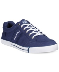 Nautica Hull Canvas Sneakers Men's Shoes