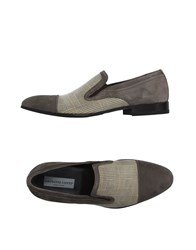 Giovanni Conti Footwear Moccasins Men Grey