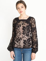 Pixie Market Alice Mccall Midnight Sorrento Top