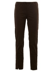 Uma Wang Relaxed Fit Trousers Green