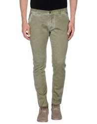 S D Side Casual Pants Military Green