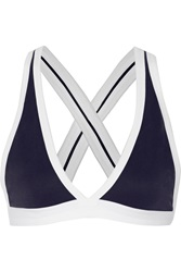Alexander Wang Pique Bra Top Blue