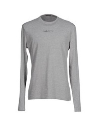 Gas Jeans Gas T Shirts Light Grey