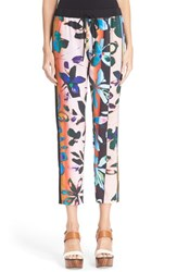 Women's Clover Canyon 'Riviera Sunrise' Floral Print Drawstring Pants
