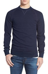 Men's Original Penguin Washed Indigo Crewneck Sweatshirt