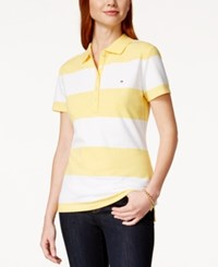 Tommy Hilfiger Polo Top Rugby Stripe